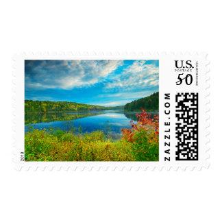 Landscape of Costello Lake Postage