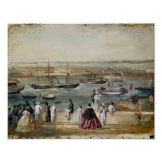 Landscape of Cuba Poster