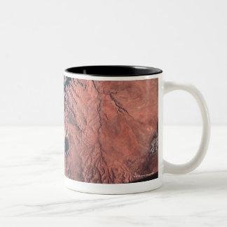Landscape of Earth 2 Two-Tone Coffee Mug