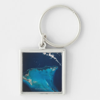 Landscape of Earth from Space 2 Keychain