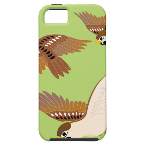 Landscape of everyday sparrow dances Case-Mate iPhone 5 ケース