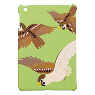 Landscape of everyday sparrow dances iPad mini cover