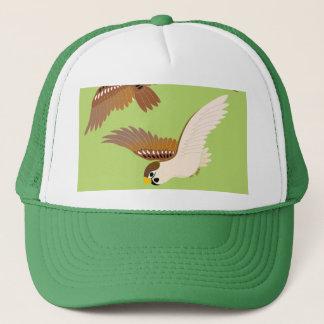 Landscape of everyday sparrow dances trucker hat