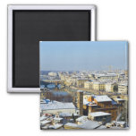Landscape of Florence from Piazzale 2 Magnets