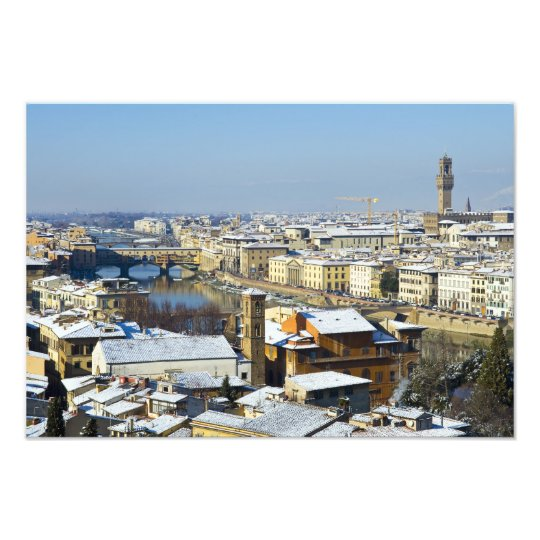 Landscape of Florence from Piazzale 2 Photo Print