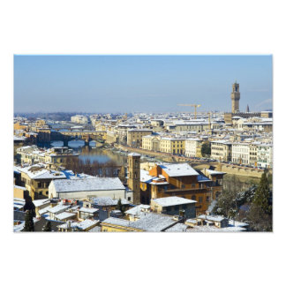 Landscape of Florence from Piazzale 2 Photo Art