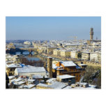 Landscape of Florence from Piazzale 2 Postcard