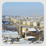 Landscape of Florence from Piazzale 2 Stickers