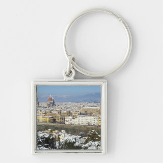 Landscape of Florence from Piazzale Key Chains