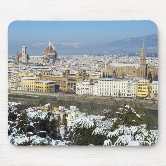 Landscape of Florence from Piazzale Mouse Pad