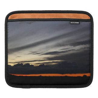 Landscape of getting late in the pine of Doñana iPad Sleeves