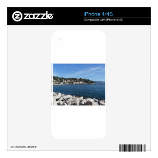 Landscape of Golfo Dei Poeti with its mussel farm Skin For iPhone 4S