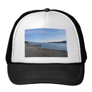 Landscape of Golfo Dei Poeti with its mussel farm Trucker Hat