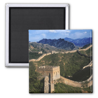 Landscape of Great Wall, Jinshanling, China Magnet