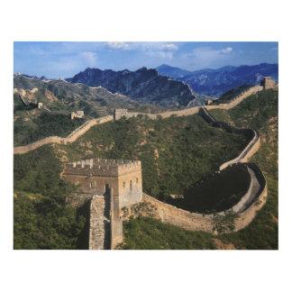Landscape of Great Wall, Jinshanling, China Panel Wall Art