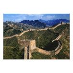 Landscape of Great Wall, Jinshanling, China Photographic Print