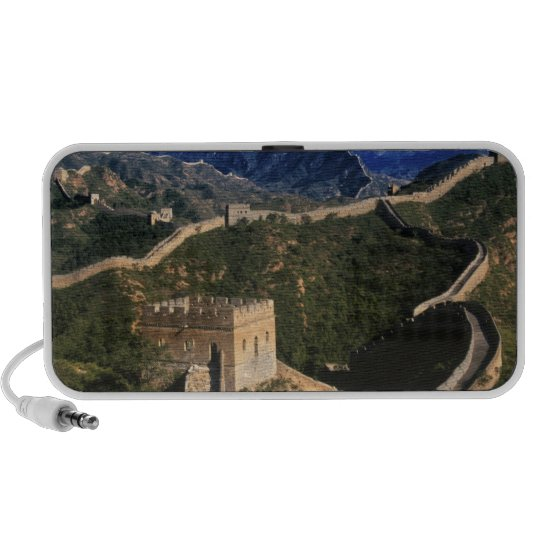 Landscape of Great Wall, Jinshanling, China Portable Speaker