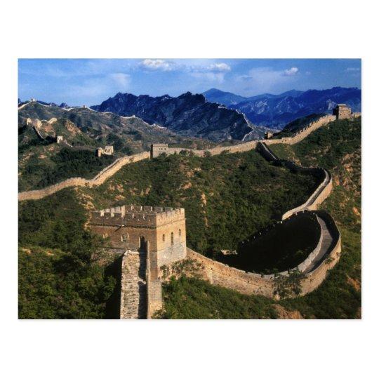 Landscape of Great Wall, Jinshanling, China Postcard