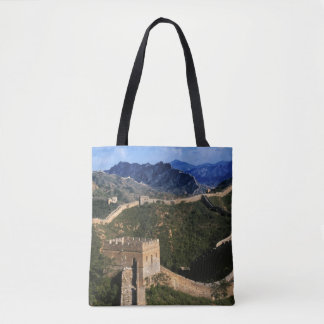 Landscape of Great Wall, Jinshanling, China Tote Bag