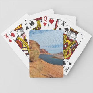 Landscape of Lake Powell Poker Deck