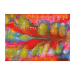 Landscape Of Love Abstract Canvas Print