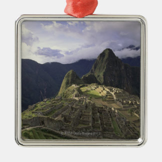 Landscape of Machu Picchu, Peru Metal Ornament