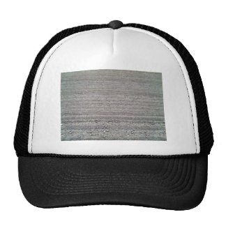 Landscape of Ploughed Field with Rows Pattern Trucker Hat