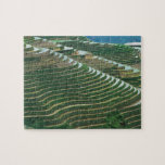 Landscape of rice terraces in the mountain, 3 jigsaw puzzle