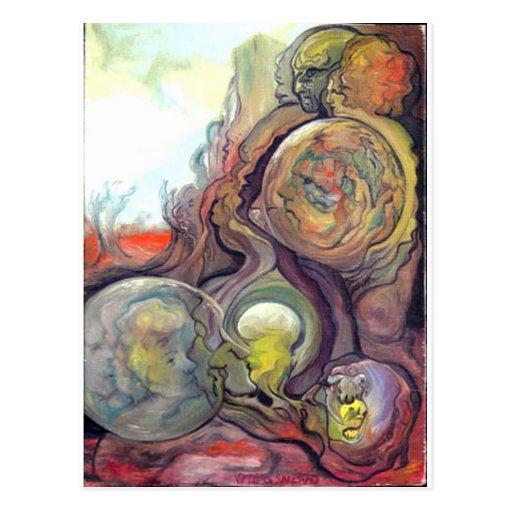 Landscape of the Mind Post Card