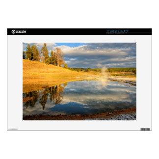 "Landscape of Yellowstone 15"" Laptop Skin"