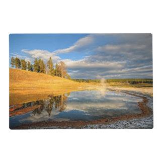 Landscape of Yellowstone Laminated Place Mat