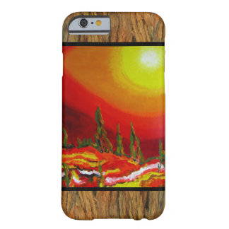 Landscape on Brown Bark Barely There iPhone 6 Case