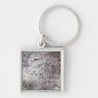 Landscape on Earth Keychain