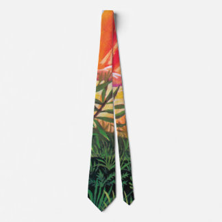 Landscape on Europa - Jupiter Moon Painting Neck Tie