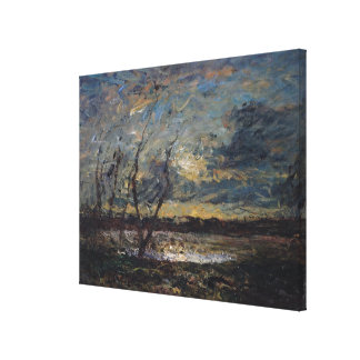 Landscape on the Outskirts of Cremieu Canvas Print