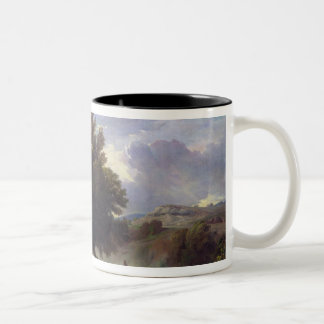 Landscape on the Outskirts of Rome, 1853 Two-Tone Coffee Mug