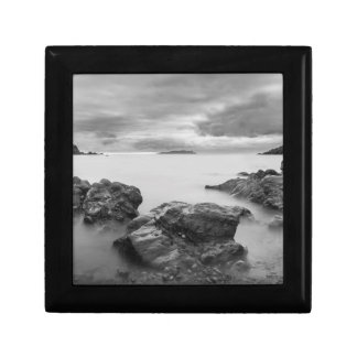 Landscape on West Shetland Jewelry Box