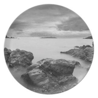 Landscape on West Shetland Plates
