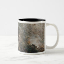 Landscape or, Morning in the Field Two-Tone Coffee Mug
