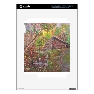 landscape paint painting hand art nature iPad 3 decals