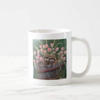 landscape paint painting hand art nature Racoons Coffee Mug