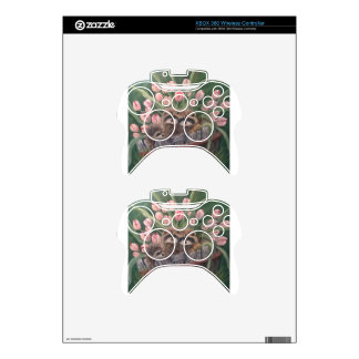 landscape paint painting hand art nature Racoons Xbox 360 Controller Skin