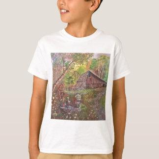 landscape paint painting hand art nature T-Shirt