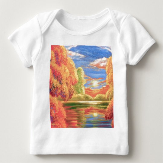 Landscape Painting Art - Multi Baby T-Shirt