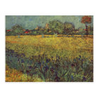 Landscape painting by Vincent Van Gogh Postcard