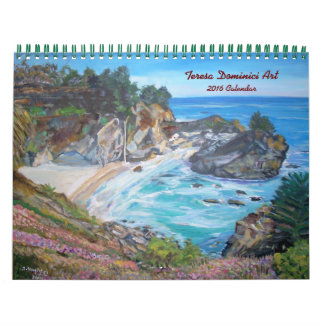 Landscape Paintings 2016 Calendar