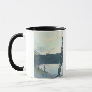 Landscape (pastel on canvas) mug