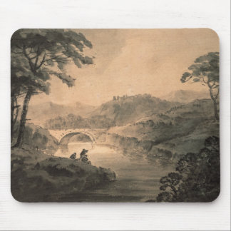 Landscape (pen & ink wash) mouse pad