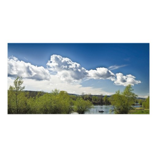 landscape photo card