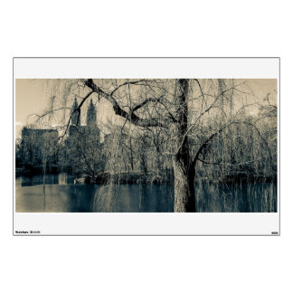 Landscape Photo of Central Park, New York City Wall Sticker